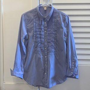 Last Chance J Crew Tuxedo Shirt WMNS 100% Cotton